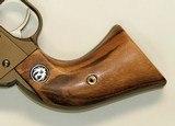 Ruger Wrangler .22 Revolver Goncalo Alves Wood Grips, Medallions - 2 of 3