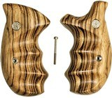 Smith & Wesson N Frame Smooth Zebra Wood Combat Grips - 1 of 1