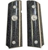 Colt 1911 Dupont™ Corian® Granite Grips With Medallions