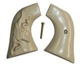 Ruger Wrangler .22 Revolver Ivory-Like Grips, Steer & Snake