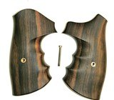 Smith & Wesson K & L Frame Combat Tigerwood Grips, Smooth