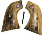 Ruger Old Model Single Six Revolver Siberian Mammoth Ivory Grips