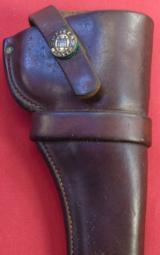 """Heiser Holster Possibly for a 6"""" Police Positive."""