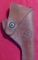 WW ll U.S.Holster for a Victory? 38 Revolver.