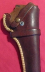Heiser Holster Possibly for a 1917 S&W