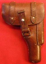 Holster for a 1914 Browning Semi Auto Pistol.