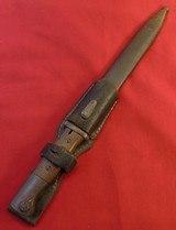 WW ll K98 Mauser Bayonet W/Matching Scabbard..