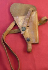 U.S.Holster for a .38 Calibre Revolver.