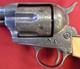 Colt Single Action,Engraved W/Ivory Grips In 38-40 Calibre. - 3 of 8