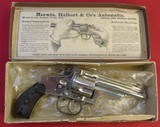 merwin & hulbert double action revolver with the original box.