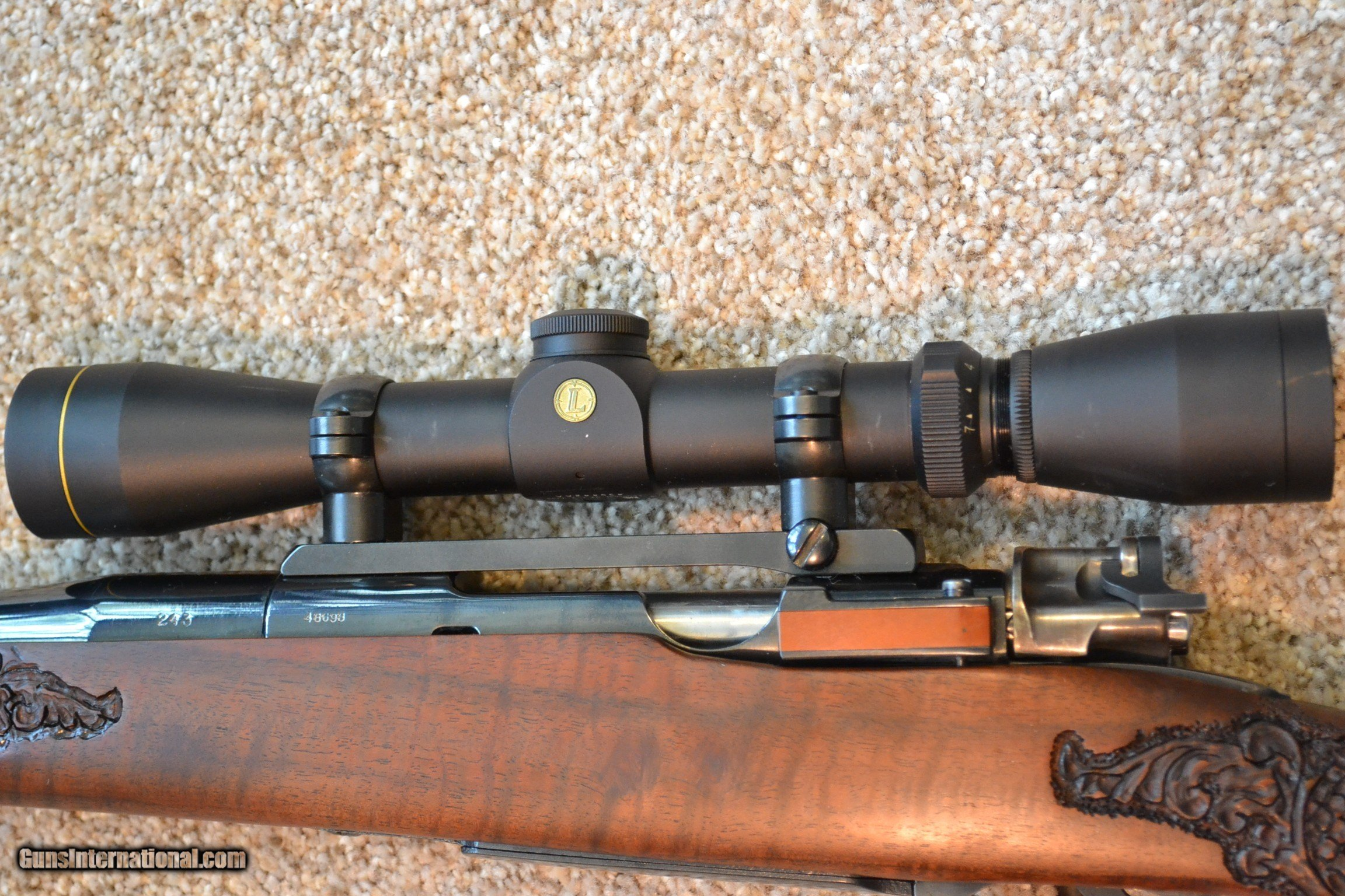 NEW Mauser Small Ring 98 CUSTOM Carbine in  243 Winchester