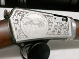 1930 Winchester model 03 deluxe fully engraved game scene .22 Win Auto 1903 - 8 of 15
