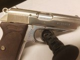 WWII Walther PPK Nazi proof 7.65 mm K suffix 7th variation SS issue? - 4 of 8