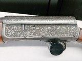 Remington Model 11 Sportsman High Grade 12 Ga engraved autoloading shotgun E Grade - 4 of 15