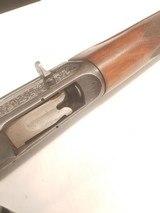 Remington Model 11 Sportsman High Grade 12 Ga engraved autoloading shotgun E Grade - 10 of 15