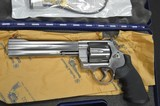 S&W Model 629 CLASSIC STAINLESS double action revolver chambered in 44 Magnum