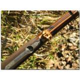 R. Hoinig, Ferlach. Extraordinarily rare little full-stocked, rebounding-hammer sidelock,O/U double rifle in caliber .22 Hornet - 9 of 15