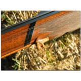 R. Hoinig, Ferlach. Extraordinarily rare little full-stocked, rebounding-hammer sidelock,O/U double rifle in caliber .22 Hornet - 10 of 15