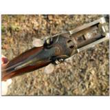 R. Hoinig, Ferlach. Extraordinarily rare little full-stocked, rebounding-hammer sidelock,O/U double rifle in caliber .22 Hornet - 7 of 15