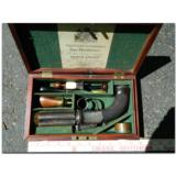 """Westley Richards, Birmingham. Extremely rare, possibly unique, multi-barreledpercussion .45 cal. """"Revolving Pistol"""" - 2 of 14"""