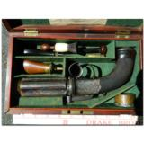 """Westley Richards, Birmingham. Extremely rare, possibly unique, multi-barreledpercussion .45 cal. """"Revolving Pistol"""" - 1 of 14"""