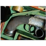 """Westley Richards, Birmingham. Extremely rare, possibly unique, multi-barreledpercussion .45 cal. """"Revolving Pistol"""" - 14 of 14"""