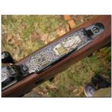 """Winchester, """"North American Game Series"""", complete set of 3 Model 70 custom rifles - 2 of 12"""