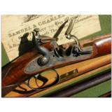 Samuel & Charles Smith, London. Best 13-bore single barrel flintlock game gun made in 1846 - 3 of 7