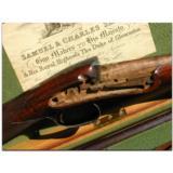 Samuel & Charles Smith, London. Best 13-bore single barrel flintlock game gun made in 1846 - 2 of 7