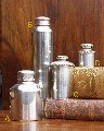 Silver Plated Oil Bottles
