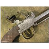 French boxlock flintlock coat pistol, ca. 1790 - 3 of 3