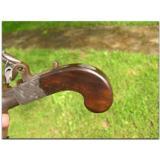 Knights, Suffolk .46 cal. flintlock, pocket pistol, ca. 1800 - 4 of 4