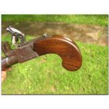 Brasher, London .48 cal. flintlock pocket pistol, ca. 1815 - 4 of 4