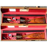 James Purdey and Son, London. Extremely rare pair of light weight game guns 28 GA and .410 - 1 of 11
