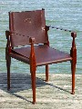 Roorkhee Chair in Leather - 1 of 4