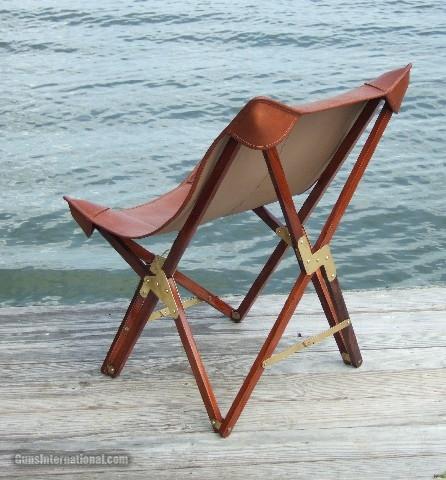Safari Chair in Leather- 2 of 5