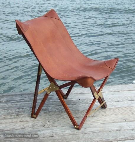 Safari Chair in Leather- 1 of 5
