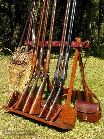 Admiral Baker Gun Rack - 1 of 3