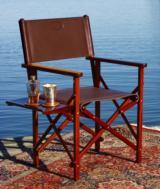 Folding Salon Chair by Lewis Drake & Associates