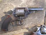 Rare Tranter Patent Revolver in .450 caliber with Rhodesian Military Proofs - 1 of 3