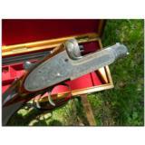 "C. G. Bonehill, Ltd., Birmingham. Magnificent prewar ""pinless"" sidelock double rifle in .450-.400, 3¼"" NE, ca.1920's- 3 of 15"