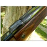 """John Rigby, London. Exceptional """"Deluxe"""" engraved and gold inlaid Mauser action sporting rifle in .275 Rigby, ca. 1980's. - 6 of 13"""