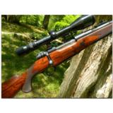"Holland and Holland, London. Superb ""Take Down"" Bolt Action Mauser action hunting rifle in .30 Super Magnum completed in 1955"