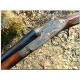 """Stephen Grant & Sons, London. Exceedingly rare and fine light weight """"Twelve-Twenty"""" self-opening game gun finished out with 20ga. barrels - 2 of 19"""