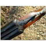 """Stephen Grant & Sons, London. Exceedingly rare and fine light weight """"Twelve-Twenty"""" self-opening game gun finished out with 20ga. barrels - 6 of 19"""