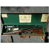 "Holland and Holland, London. Outstanding little prewar ""Take Down"" bolt action Mauser rifle in .240 ""Apex"" made in 1927"