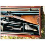 Woodward and Foster, Doncaster, England. Incredibly rare 4-gun casing consisting of two sporting guns and two sporting rifles- 5 of 14
