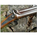 Gastinne Renette', Paris.Mint condition 12-bore O/U percussion Sporting Rifle with original detachable bayonet, ca. 1850