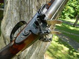 Westley Richards 14-bore Flintlock Shotgun with extra set of .54 cal. hollow-point bullet barrels, ca.1841 - 2 of 25
