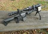 Absolutely unique prototype Knight's Armament SR-25, 7.62 mm NATO, semi-automatic, precision designated marksman rifle